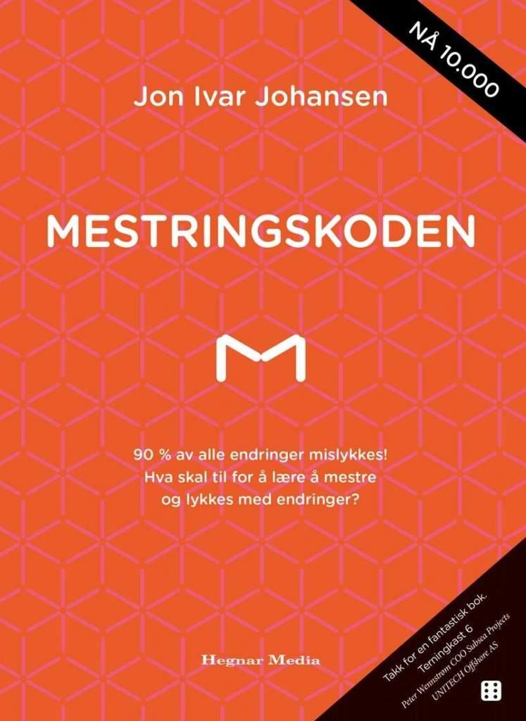 """Forside til boken """"Mestringskoden"""" av Jon Ivar Johansen"""